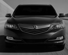 Spend your formal Friday all in black with the 2014 Acura RLX.