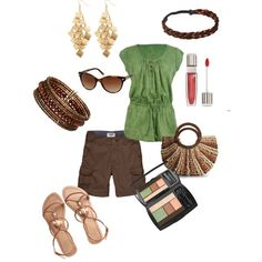 A Hint of Sage, created by rachael-phillips on Polyvore