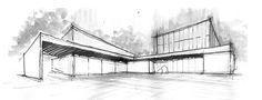 Primer Lugar en concurso del complejo cultural de la Universidad Nacional de Moreno / Argentina,Cortesia de Equipo Primer Lugar