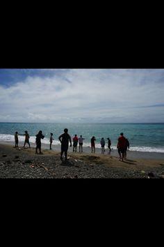Beautiful beach in the Solomon's