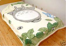 TOTORO Single Size Blanket KUNUGI design
