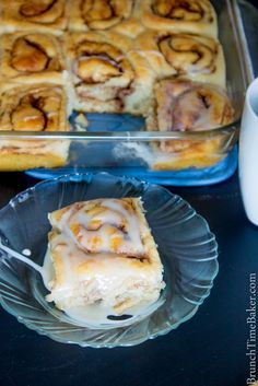 Fluffy Homemade Cinnamon Rolls - gonna try with GF flour