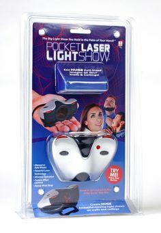 For 10-yr-old boy -- Pocket Laser Light Show!