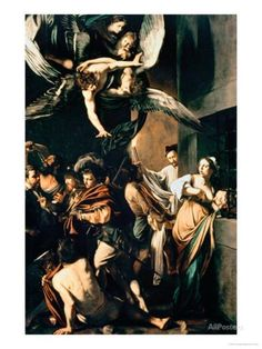 The Seven Works of Mercy, 1607 Giclee Print by Caravaggio - AllPosters.co.uk