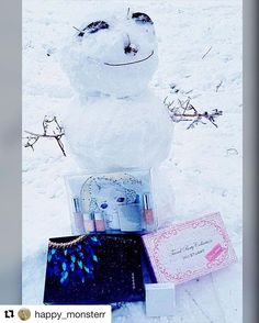 #Repost @happy_monsterr with @repostapp  I am the happiest frozen girl !!!  My little #fudejapan order - Suqqu JillStuart and RMK Christmas kits Toshiya San Thank you so much!! #beautyful #happygirl #frozen #beauty #beautyblog #limitededition #suqqu #rmk #jillstuart #makeup #eyeshadowpalette #japancosmetics #японскаякосметика #бьютиголик #праздниккнамприходит #makeuplover #japan #бьютиблог