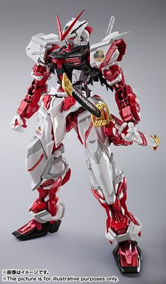 GUNDAM GUY: METAL BUILD Gundam Astray Red Frame - New Images & Release Info [Updated 11/1/15]