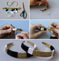 Le bazar d'Alison - Blog Mode d'une Lyonnaise: DIY - Le jonc doré