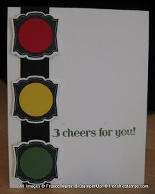Stamp & Scrap with Frenchie: Stampin'Up! Label Love for Stop lights
