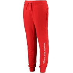 Detroit Red Wings Fairfax Cuffed Sweatpants - Red