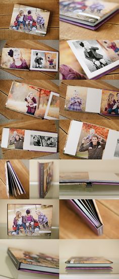 Album Inspiration! All your photos in one place... what a fantastic heirloom.