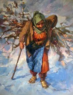 Remzi Taşkıran Art And Illustration, Turkish Art, Soul Art, Art For Art Sake, Beautiful Paintings, Art Oil, Watercolor Art, Photo Art, Art Projects