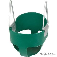 High Back Full Bucket Toddler Infant Swing Seat - Seat Only, Green (Baby Product)