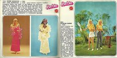 Booklet Barbie 1977 Italy  pagg 3-4