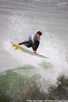Brett Simpson surfing at Huntington Beach, Orange County, California Huntington Beach Ca, Surf City, California Love, Surfers, Horse Racing, Main Street, Orange County, Outdoor Activities, The Great Outdoors