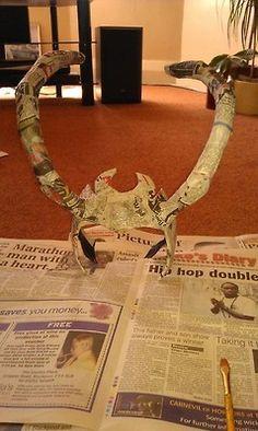 DIY Loki Horns. OMG!! Gender bent Loki anyone? :-)