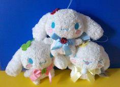 Fluffy Cinnamoroll Plushes on Ebay