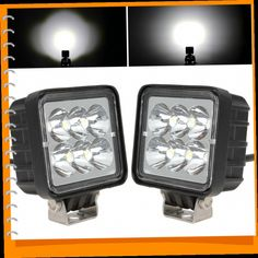 42.86$  Watch now - http://aliwds.worldwells.pw/go.php?t=32621500891 - 2pcs/pair! 3 Inch 12V / 24V 18W LED Work Light Lamp Waterproof 6000K Off road LED Worklight for Tractor Boat 4WD Offroad SUV ATV