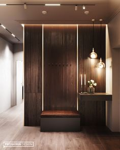 Hello everyone, friends! Today we are sharing another fragment from the project - . Modern Home Interior Design, Home Room Design, Master Bedroom Design, Interior Design Living Room, Living Room Designs, House Design, Spa Design, Design Ideas, Home Entrance Decor