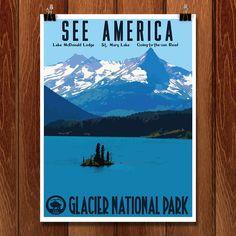 Glacier National Park by Isaac Loveland
