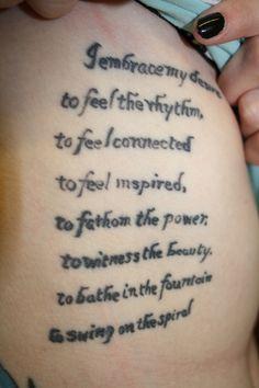 Lateralus Lyrics Tattoo Tool Lateralus Eye Tat...