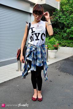 Japanese Street Style.