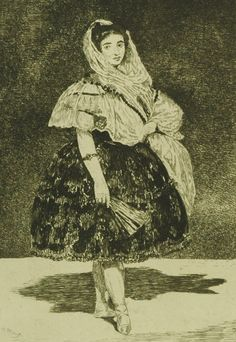 Lola de Valence, Edouard Manet Nationality: French Creation date: 1863 Creation place: France Modern Art, Contemporary Art, Valence, Etching Prints, Chicago Art, Edouard Manet, Reproduction, Art Academy, Postmodernism