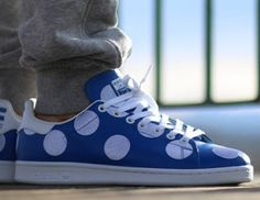 The new and improved old school Stan Smiths Pharrell styles