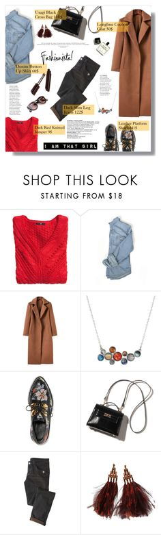 """""""Casual Date"""" by nadia-gadelmawla ❤ liked on Polyvore featuring H&M, Alexander McQueen and Louis Vuitton"""