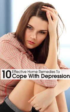 I thought this could be a great way for you to help yourself at home. With this Pin shows you  10 effective ways to cope with depression. Open the link and you will find these 10 different ways.
