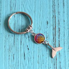 Dolphin Fin, Fish Scales, Key Chain Rings, Birthday Gifts For Girls, Beach Jewelry, Jewelry Organization, Dolphins, Jewelry Necklaces, Mermaid