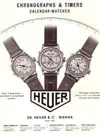 #TagHeuer Vintage Magazine Ad.