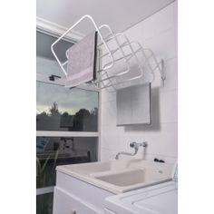 Tendedero de Pared Duplex 100 cm código 5146 Laundry Design, Bathroom Lighting, Sink, Bathtub, Mirror, Furniture, Home Decor, Houses, Bathroom Light Fittings