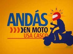 Andás en moto, usá casco #transito #seguridad #motociclietas