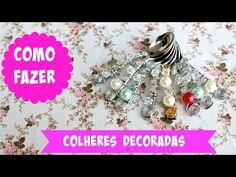 COLHERES DECORADAS - YouTube
