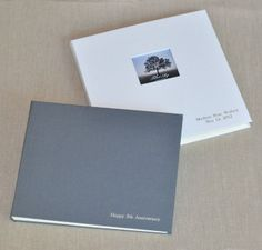 Blue Sky Papers linen photo albums