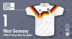 Las 10 mejores camisetas de fútbol de la historia