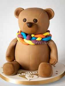 Download Teddy Bear With Cake Images : 1000+ images about Designer Cakes on Pinterest Cakes ...