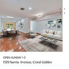 OPEN SUNDAY 1-3  1519 Sarria Ave in Coral Gables is a 3/2 + office or 4th that is walking distance to UM! A great value for location--priced at $668,000! Reach out to schedule a private tour or join us this Sunday from 1-3  . . .  #mauriciojbarba #miamisignaturehomes #exclusivelisting #coralgablesexpert #coralgablesrealtor #salesstrategy #buyersagent #pricedright #sellersagent #compasseverywhere #compassrealestate #compassfl #agentsofcompass #openhousesunday #miamirealestate #miamirealtor South Miami, South Florida, Real Estate Seminars, Palmetto Bay, Florida International University, Stills For Sale, Sales Strategy, Coral Gables