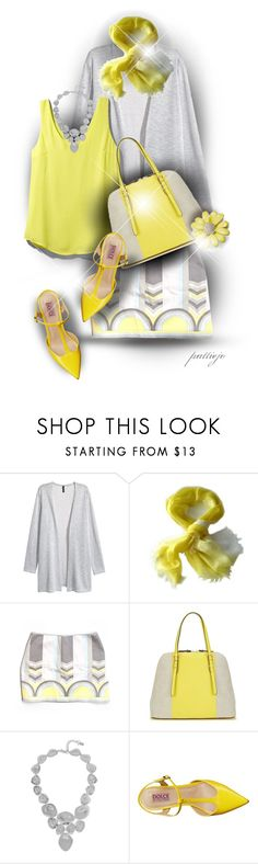 """Hello Sunshine!"" by rockreborn on Polyvore featuring Yuh Okano, Elie Tahari, Tinley Road, Isaac Mizrahi, Robert Lee Morris, Mojo Moxy and Kate Spade"