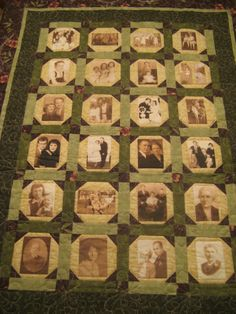 how to make a family tree quilt with pictures   making thanks to procrastination and indecision. It's a family tree ...