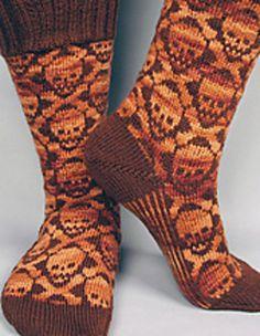 Hot Cross Bones socks