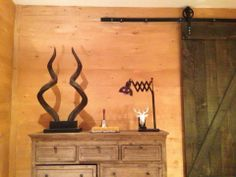 Another Barn door custom made for Colin & Justin's TV Show Cabin Pressure on Cottage Life airing March 2014.