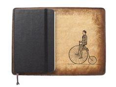 Items similar to Moleskine Leather Notebook Cover [Large & Pocket Sizes][Customizable][Free Personalization] - Penny Rider on Etsy