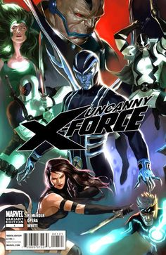 Uncanny X-Force (vol.1) # 1 variant cover by Djurdjevic