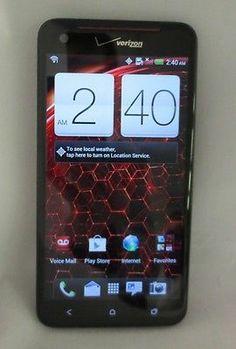 HTC Droid DNA 6435LVW Verizon Black CLEAN ESN MINT Condition!