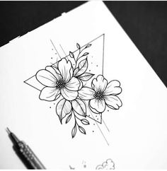 Simple, whimsical drawings or tattoos can be used in your sketchbook or imprinted on your body for eternity.Whether you're bored or just trying your hand at painting, I hope you find some little, inspiring doodles that make your day a little easier. Future Tattoos, Love Tattoos, Body Art Tattoos, Small Tattoos, Kritzelei Tattoo, Doodle Tattoo, Tattoo Sketches, Tattoo Drawings, Sketchbook Drawings