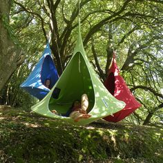 I want one of these Hang-In-Out - Double Cacoon - Sky Blue
