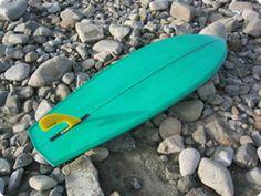 MANDALA 5'8  with George Greenough inspired fin
