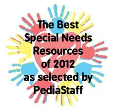 Best Special Needs Resources of 2012 as selected by PediaStaff