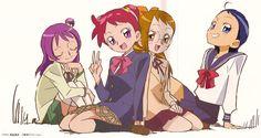 Ojamajo Doremi 16 (new Magical Doremi serie) Anime Chibi, Kawaii Anime, Manga Anime, Awesome Anime, Anime Love, Maho, Ojamajo Doremi, Gekkan Shoujo Nozaki Kun, Japanese Cartoon